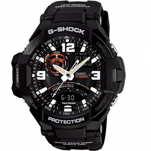 Casio G-Shock Black GA-1000-1A