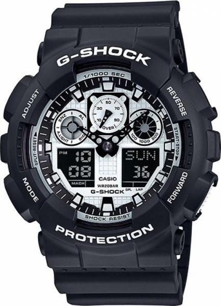 Casio G-Shock G-Classic GA-100BW-1AER