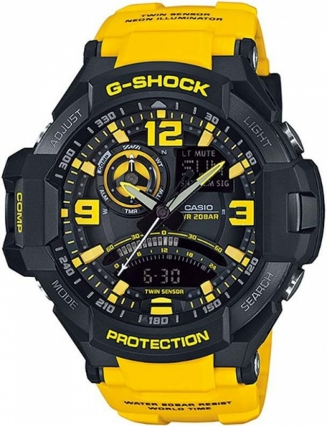 Casio G-Shock Gravity Defier GA-1000-9BER