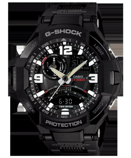 Casio G-Shock Gravity Defier GA-1000FC-1A