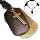 Náhrdelník Psí známka, Kříž CTH418T
